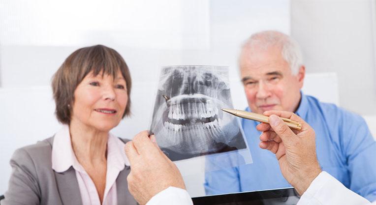 Рентгеновский снимок и пациенты стоматологии
