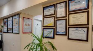 Интерьер стоматологической клиники