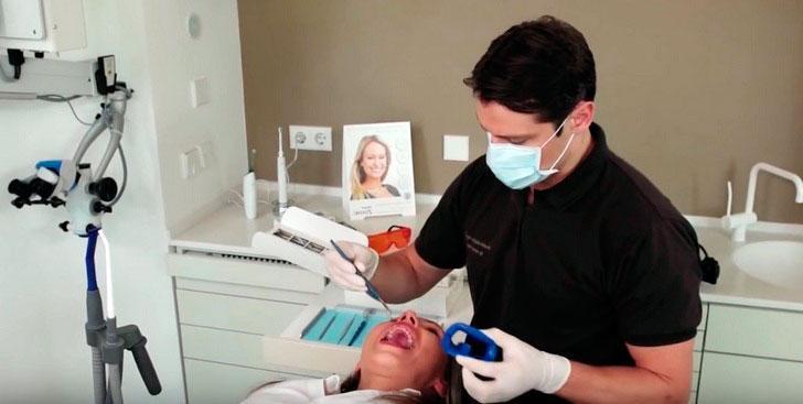 Электрофорез с кальцием, для твердых зубных тканей