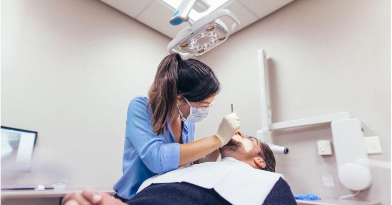 Осмотр стоматолога терапевта