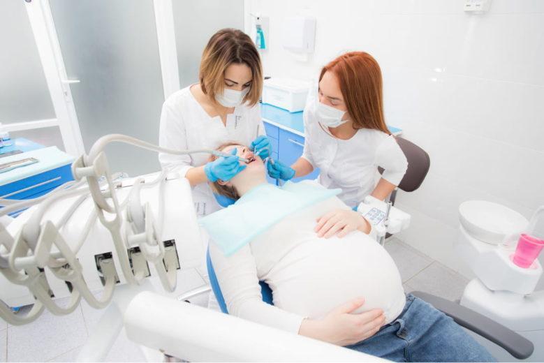 Брекеты во время беременности