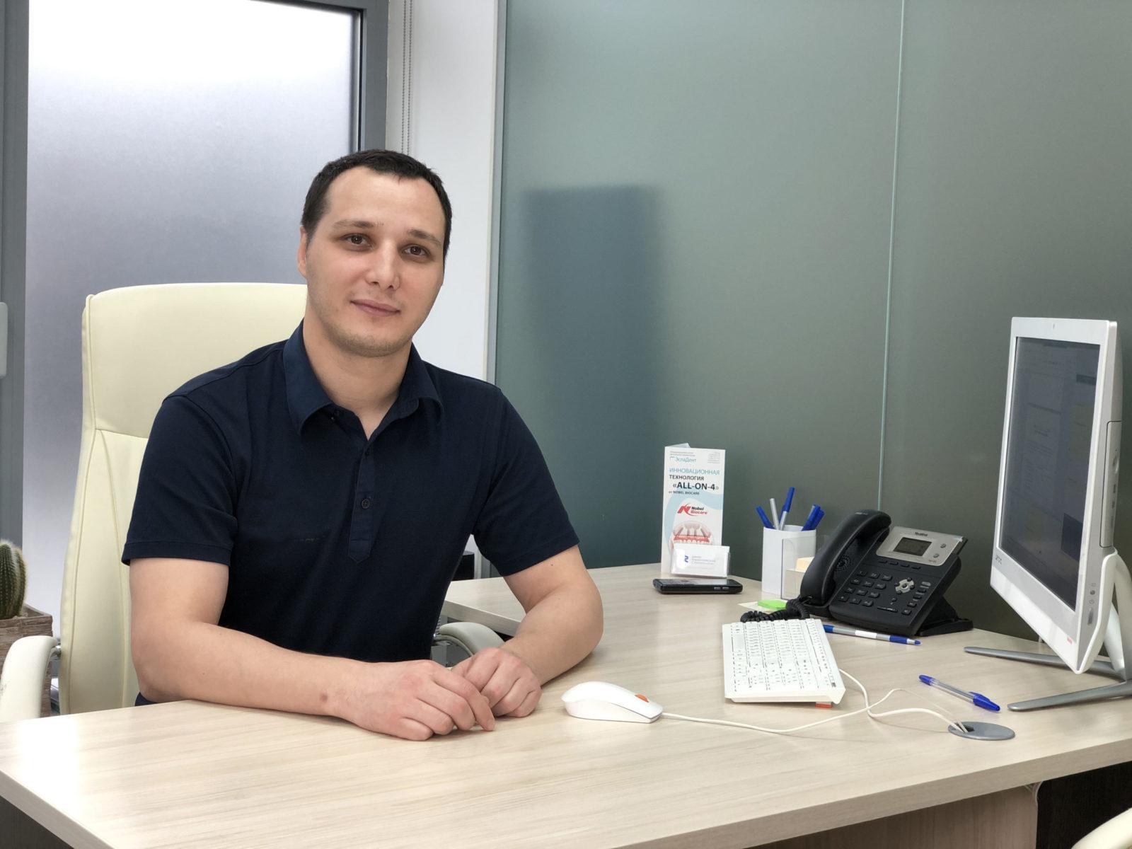 Врач-стоматолог кандидат медицинских наук Закариев Заур