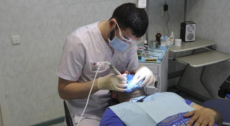 Отбеливание зубов в стоматологической клинике