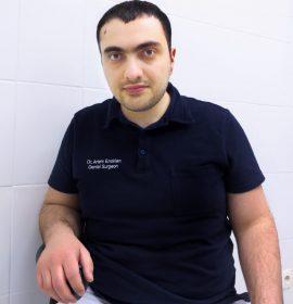 Имплантолог Енокян Артем Дживанович, специализируется на имплантации зубов