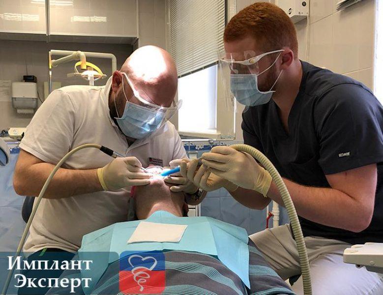 Рабочий процесс специалистов в стоматологии