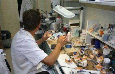 Изготовление микропротезов в лаборатории