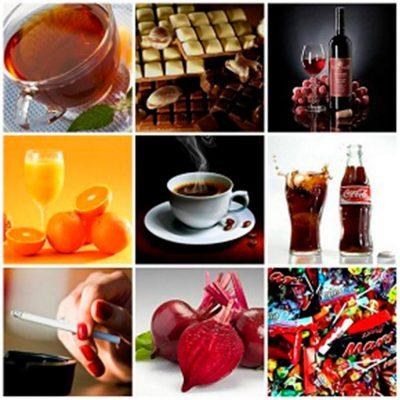 Красящие продукты