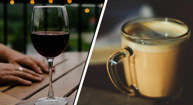 Вино и кофе
