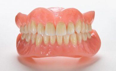 Полный зубной протез всей челюсти